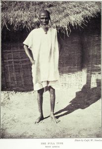 The Fula type, West Africa.