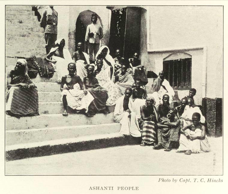 Ashanti people.