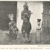 Native idols of the Nimbi or 'Brass' River people: Niger Delta.