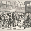Street scene, Barbados: throwing money