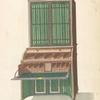 Open secretary-bookcase.]