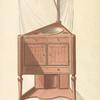 Corner wash stand.
