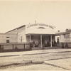 U.S. Sanitary Commission Lodge, location unknown.]