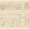 "Plan of ""Hospital Cars"" between New York and Washington."