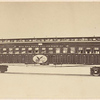 United States Sanitary Commission Hospital Car: model sent to Paris Exposition.]