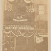 U.S. Sanitary Commission, 1307 Chestnut St., Phila[delphia], July 4, 1865. Decorations & illumination for the return of peace to our beloved country.
