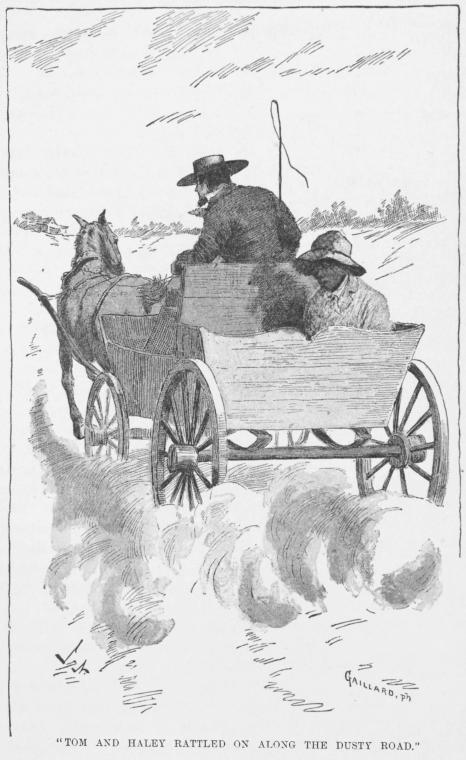 This is What Harriet Beecher Stowe and Tom and Haley rattled on along the dusty road. Looked Like  in 1897