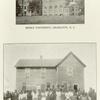 Biddle University, Charlotte, N.C.; Bethesda Mission, Wynnewood, Okla.