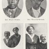 Rev. Wiley Homer.; Rev. William Butler. ; Rev. and Harriet Stewart Edwards. ; Rev. and Maria Jones Sands.