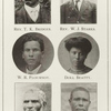 Rev. T. K. Bridges. ; Rev. W. J. Starks. ; W. R. Flournoy. ; Doll Beatty. ; Rev. P. S. Meadows. ; James R. Crabtree.