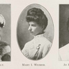 Lou K. Early. ; Mary I. Weimer. ; Jo Lu Wolcott.