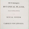 Picturesque botanical plates.... (Title page, part 3)