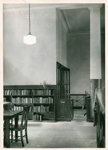 W.P.A. Department of Libraries: Chatham Square Library Branch, Browsing Room