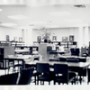 Interior of the Dongan Hills Library]