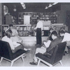 Young readers, seated, Donnell-Nathan Strauss]