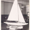 Interior, model sailboat]