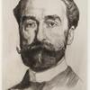 [Étude pour le portrait de M. Carnot (deuxième planche).]