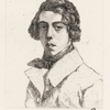 Théodore Chassériau [d'après un portrait peint par lui même à l'âge de 19 ans.].