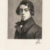 Théodore Chassériau d'après un portrait peint par lui même à l'âge de 19 ans.