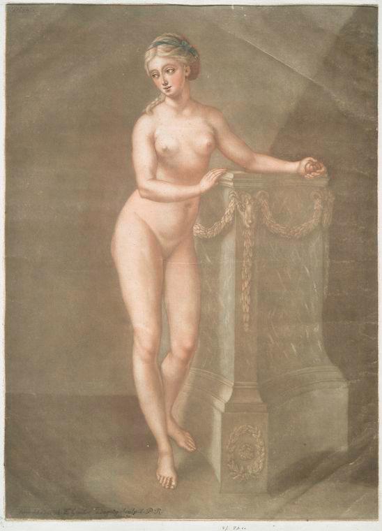 Fascinating Historical Picture of Arnauld-Eloi Gautier-Dagoty in 1773