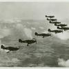 """Hawker """"Hurricanes"""" (Fighters)."""