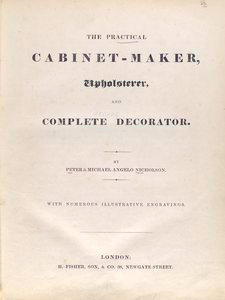 The practical cabinet-maker.... [Title page]