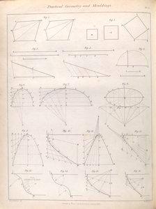 Practial geometry and mouldings.