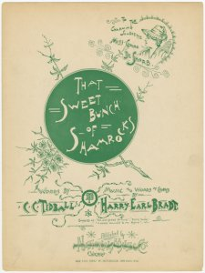 That sweet bunch of Shamrocks / words by C.C. Tidball ; music and words of chorus by Harry Earl Bradt.