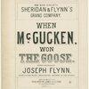 When McGucken won the goose