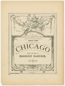 Chicago / words and music by Harry Dacre.