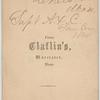 Frank B. Fay : Chelsea, Mass. : Supt. A.X.C. San. Com. 1864