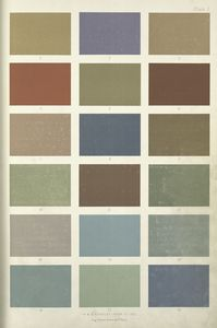 Colours and tints most suitable for decorative painting.