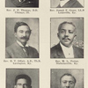 Rev. J. F. Thomas, D. D. Chicago, Ill. ; Rev. Joseph F. Green, L.L. B. Louisville, Ky. ; Rev. E. T. Offutt, A.B., Th.B. Lexington, Ky. ; Rev. M. L. Porter, Nicholasville, Ky. ; Rev. T. W. H. Gibson, Pastor of Consolidated Baptist Church, Lexington, Ky. ; Rev. P. D. Dennis, Providence, Ky.