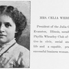 Mrs. Celia Webb Hill.