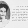 Mrs. Mary Burton.
