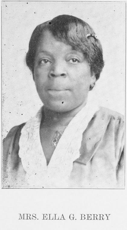 Mrs. Ella G. Berry.