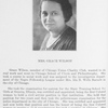 Mrs. Grace Wilson.