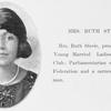 Mrs. Ruth Steele.