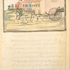 Spanish Volante [Carriage with passengers drawn by two horses with rider.]
