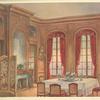Salle a manger Louis XIV, provenant de la vente Lelong....