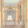 Chambre a coucher composée d'aprés celle de Ninon de Lenclos....