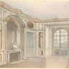 Bibliothéque du roi a Versailles....