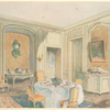 Salle a manger Louis XV, d'ordonnance simple....