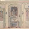 Salle a manger Louis XV, montrant la niche....