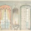Salon Louis XV. Face des fenêtres don¿t l'une montre....