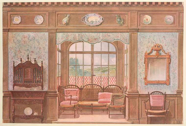 Salle a manger louis xv nypl digital collections - Salle a manger louis 15 ...