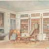 Bibliothéque Louis XVI ( d'aprés un château des environs d'Alençon)....