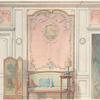 Boudoir cabinet de toilette Louis XVI....