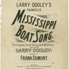 Larry Dooley's famous Mississippi boat song