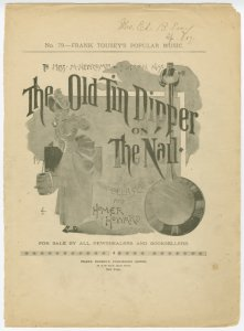 The old tin dipper on the nail / by F. Belasco and Homer Howard.